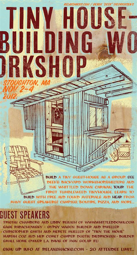 Small Home Building Workshop Relaxshacks Tiny House Building Workshop 3