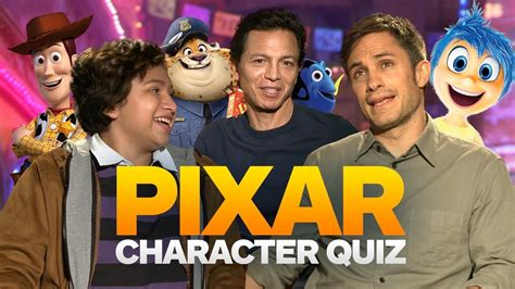 coco cast pixar character closeup quiz with the cast of coco youtube