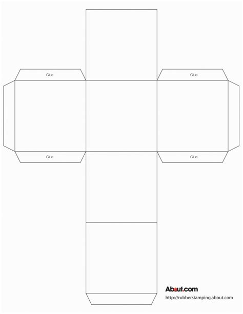 printable paper cube use this cube box to make gift boxes favors decorations