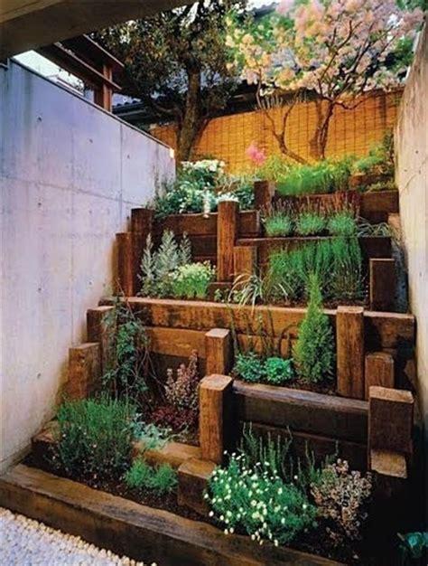 backyard herb garden herb garden raised bed outside pinterest