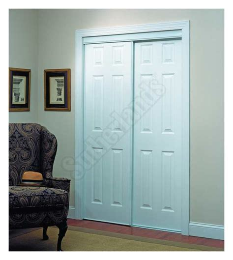 Home Decor Innovations Closet Doors by Home Decor Innovations 24 0011 6 Panel By Pass Door 106