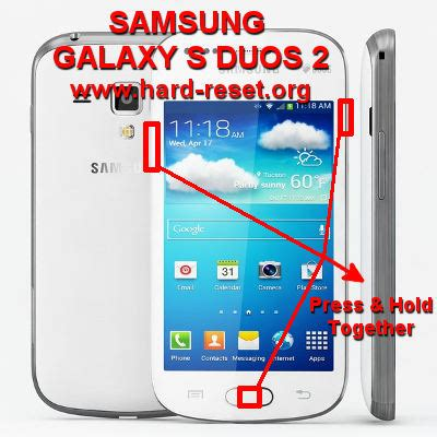 reset samsung duos to factory settings electronics tricks and tips samsung galaxy s duos 2 s7582