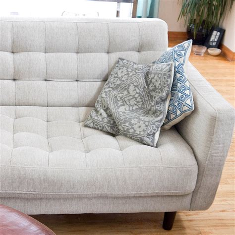 how deep is a couch how to clean a natural fabric couch popsugar smart living
