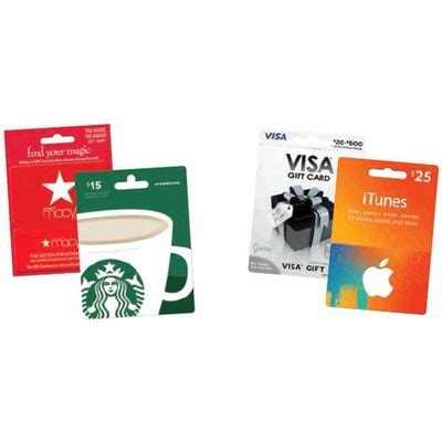 Gift Card Selection - large selection of gift cards walgreens shoplocal