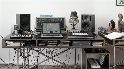 Studio Desk Setup by Ableton Tips Ableton Helpful Tips And