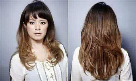 model rambut segi rambut panjang segi hairstyle gallery