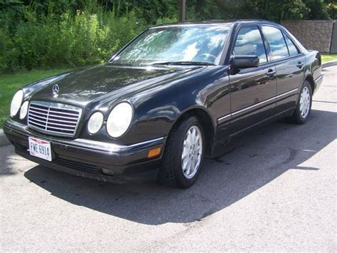 97 Mercedes E320 by Buy Used 1997 Mercedes E320 3 2 Black On Black In