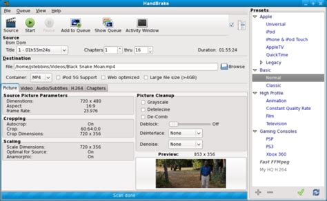 format converter open source how to reduce blu ray video size with hd quality by using