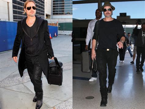 Brad Get Their St On In Oz by How To Get Brad Pitt Style