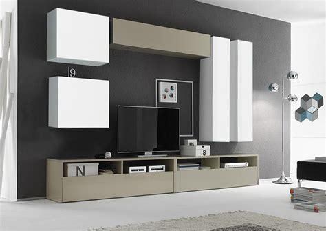 Parete Attrezzata Moderna by Parete Attrezzata Moderna Di Design Turchese Lucido