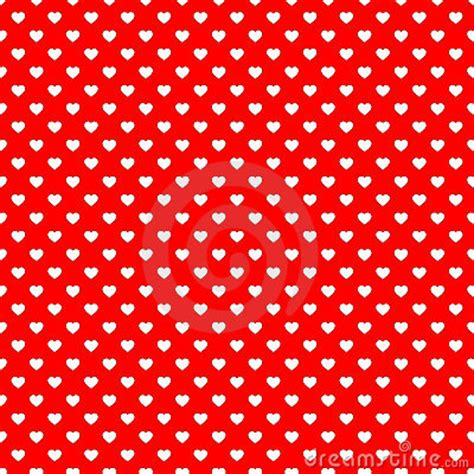 pattern red heart red heart seamless pattern background royalty free stock
