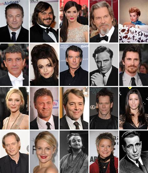 actor 4 letter last name b actors by picture quiz by thejman