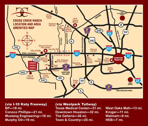 map of fulshear texas cross creek ranch directions master planned community in west katy