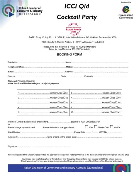 Hotel Booking Form Template Images Frompo 1 Entertainment Booking Form Template