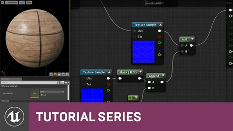 youtube tutorial unreal intro to materials using masks within materials 04 v4