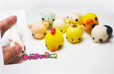 Monimoni Squishy Scented Original Korea monimoni animals mochi squishy squeeze stretch dotdotbang
