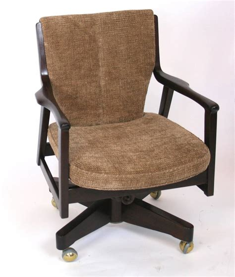 mid century desk chair mid century modern desk chair for sale at 1stdibs