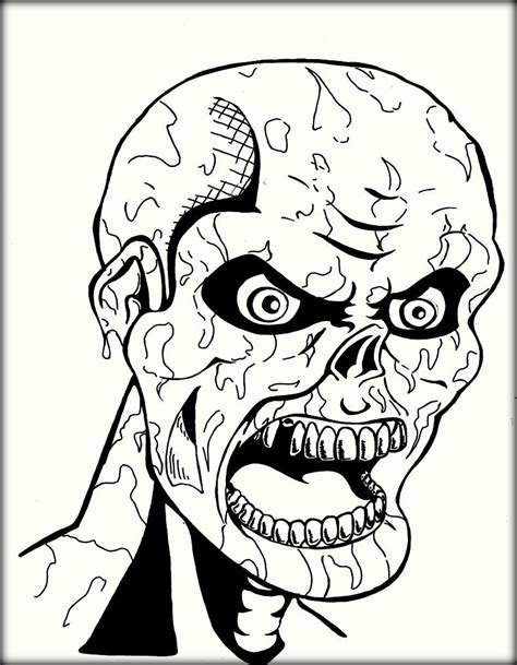 scary coloring pages scary coloring pages sketch coloring page