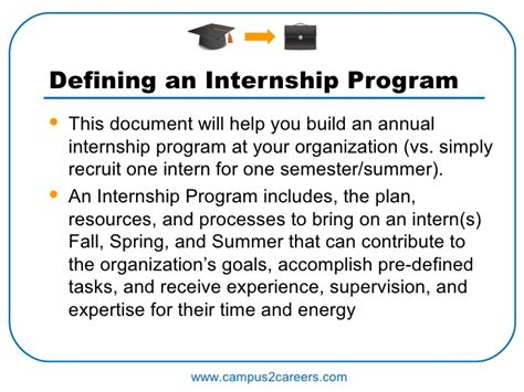 How Can You Contribute To The Mba Program by Internship Program Guide
