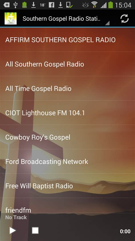 southern gospel radio stations amazon co uk appstore for