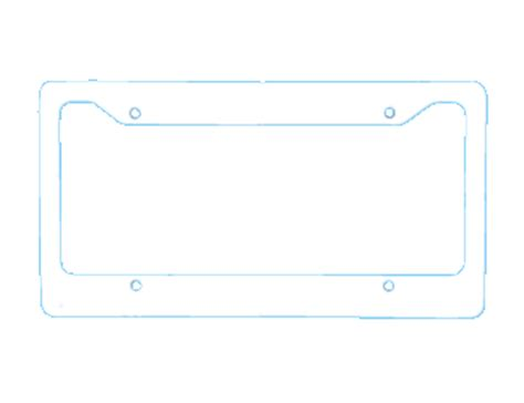 Car Tag Frames Personalized License Plate Frame Template