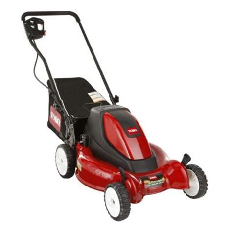 toro 20 in 36 volt cordless electric lawn mower 20360