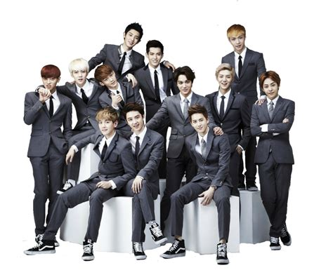 exo wallpaper 2013 xoxo exo s xoxo 2013 png by k popx3 on deviantart