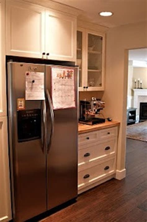Shallow Kitchen Wall Cabinets Recess Your French Door Fridge Into The Wall Stonehaven Life