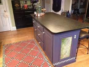Kitchen Island That Seats 4 by Custom Artistry Hand Painted Kitchen Island Seats 4