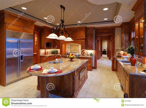 big kitchen stock image image