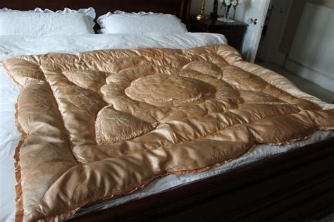 satin down comforter 17 best images about my vintage satin down comforters on