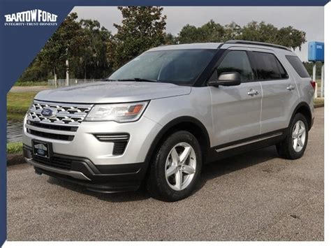 2019 Ford Explorer by New 2019 Ford Explorer Xlt In Bartow X5301 Bartow Ford