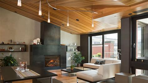 Wood Ceiling Designs Living Room 23 Living Rooms With Wooden Ceilings Exuding A Warm Aura Home Design Lover