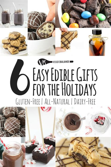 easy edible gifts to make this holiday veggiebalance