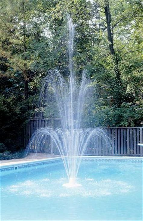 pool fountains for inground pools pool water fountains inground pool lights