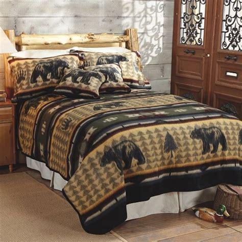 Bear Fever Fleece Bedding Cabelas Bedding Sets