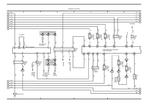 small engine maintenance and repair 2005 toyota sienna security system repair guides overall electrical wiring diagram 2005 overall electrical wiring diagram