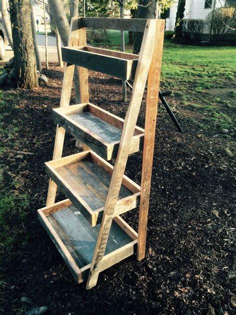 Wood Ladder Shelf Plans