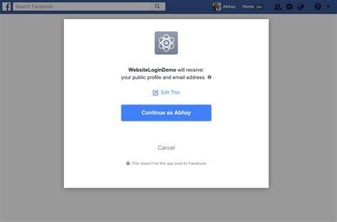 tutorial php facebook api facebook login query string