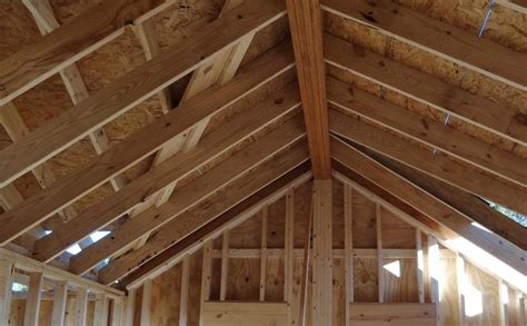 Structural Ceiling by Structural Ridge Beam Tricks Of The Trade
