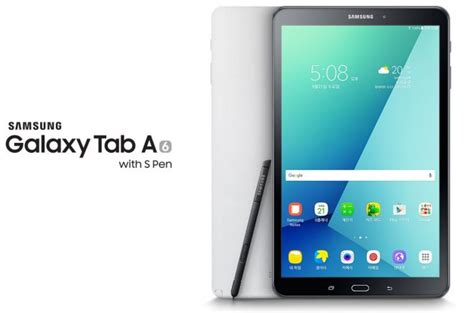 samsung galaxy tab a 10 1 2016 with s pen sm p580 and