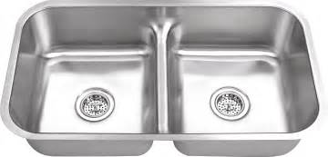 3218ld 18 gauge double bowl undermount stainless steel kitchen sink