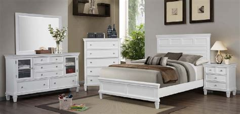 sandy beach white bedroom furniture 4 pc coaster white sandy beach bedroom set