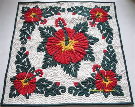 Hawaiian Handmade Quilts - hawaiian wall hanging quilt baby blanket handmade 100