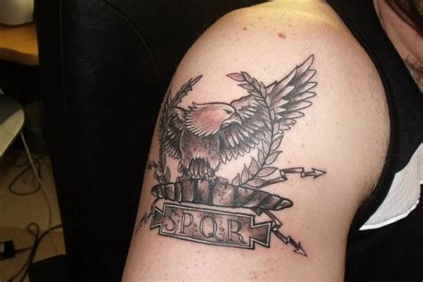 spqr tattoo meaning legion spqr meaning