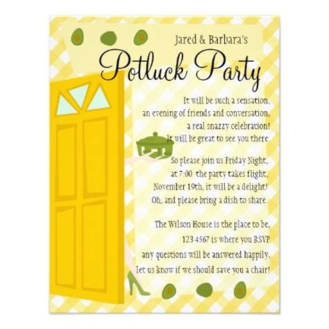 potluck email invitation template potluck invite wording holding place for happenin