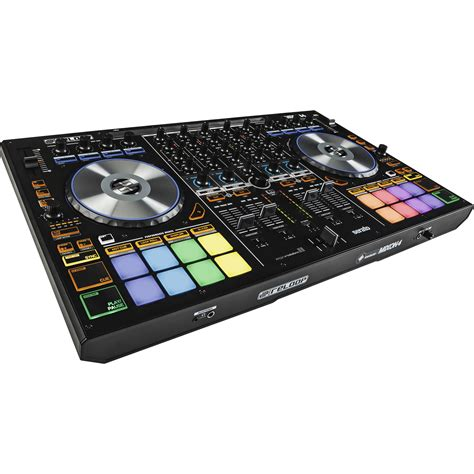 best serato controller reloop mixon 4 dj controller for serato dj and algoriddim