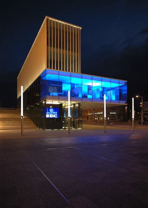 kbc bank nv belgium kbc bank martelarenplein in leuven belgium by crepain
