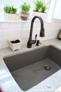 metallic gray blanco sink southern hospitality