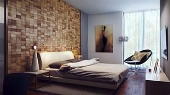 Modern Wall Design by Contemporary Wood Block Headboard Wall Design